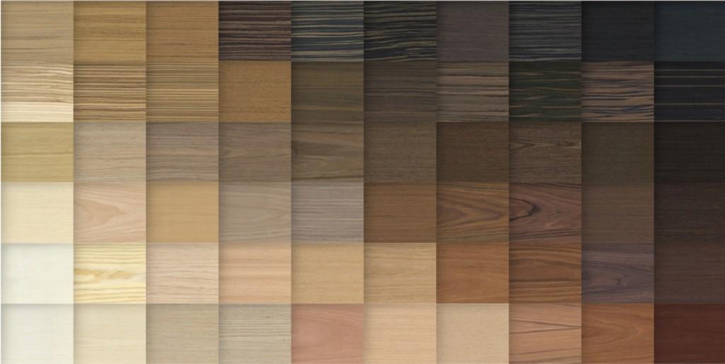 Reichhaltigkeit der Holzoberflächen