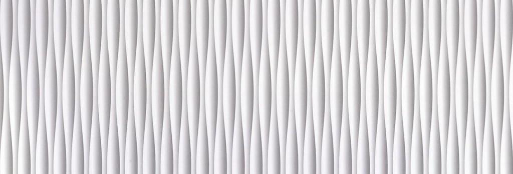 Muster 3D Reliefoberfläche MDF weiß lackiert