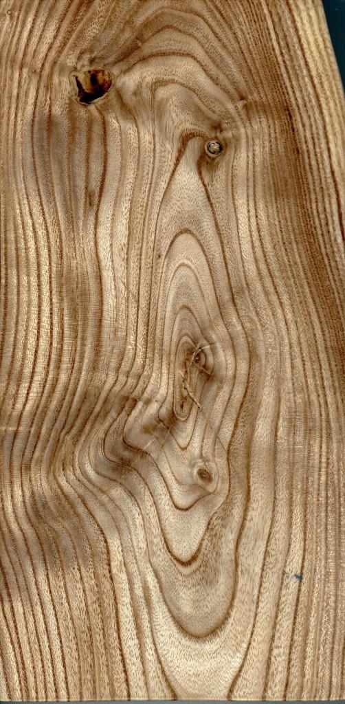 Muster Massivholz Schnurbaum