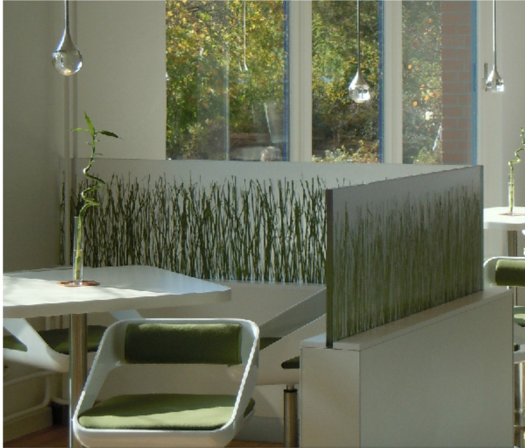 Designpaneel im Innenraum