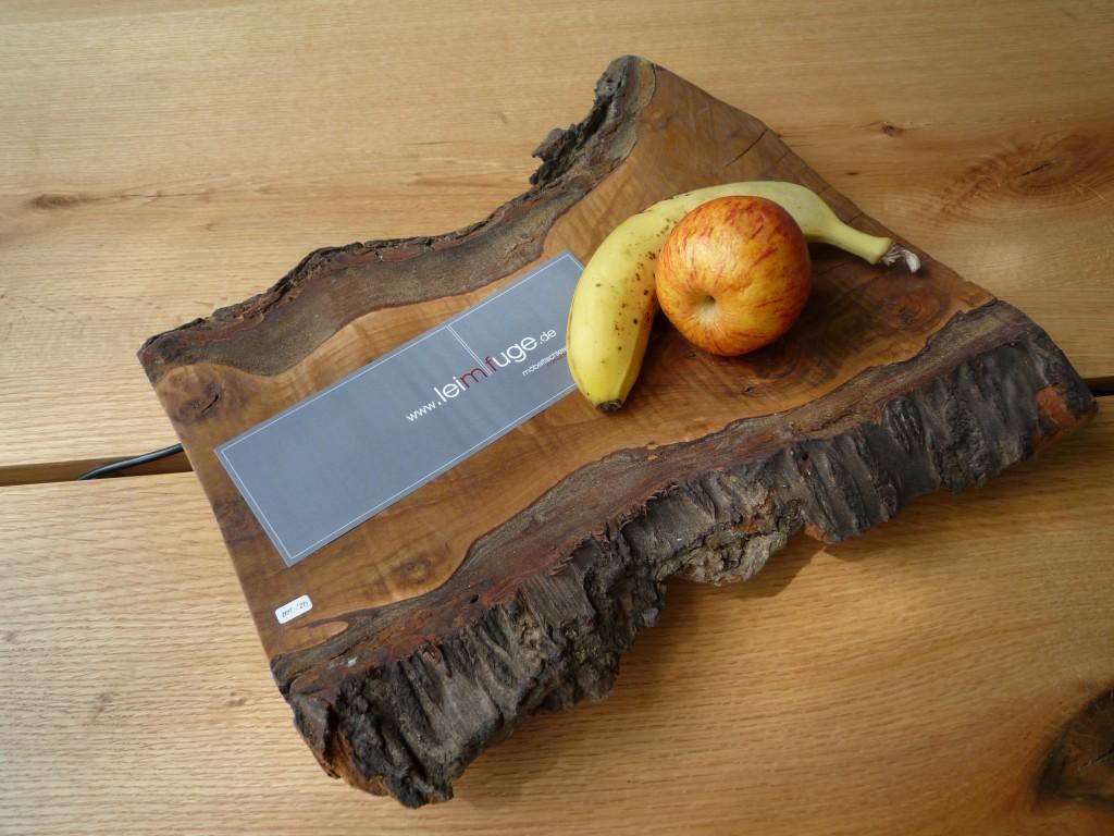 Obstschale aus Kirschbasumholz
