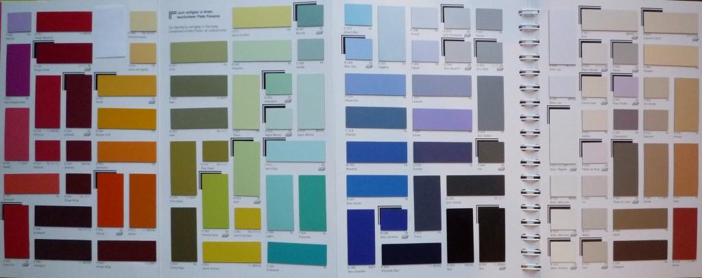 Schichtstoff Oberflächen sind in einer großen Farbenvielfalt verfügbar (z. B. Polyrey)