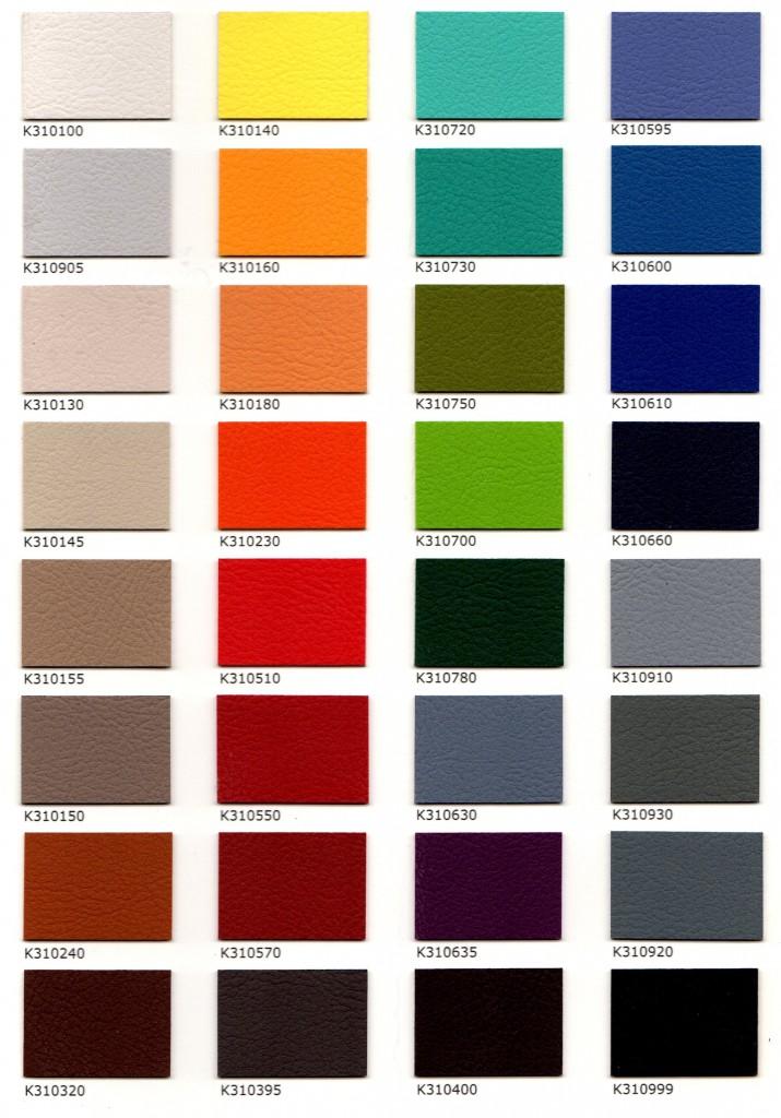 Kunstleder, strapazierbare und optisch schöne Oberfläche in den verschiedensten Farben