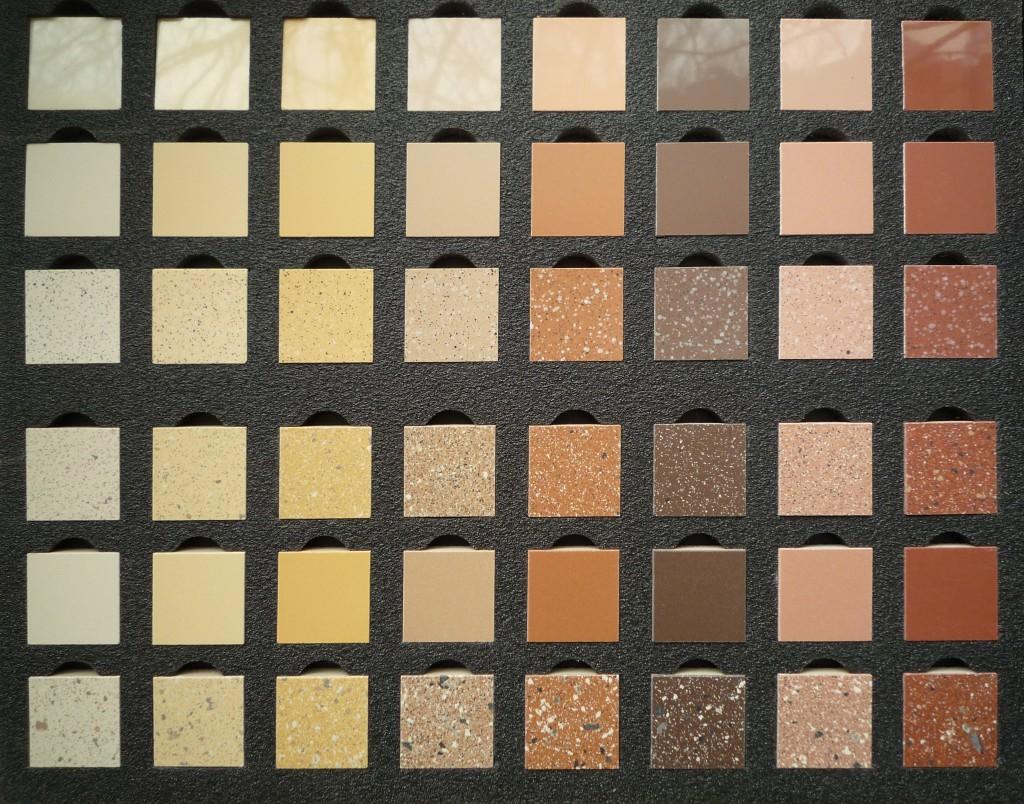 Feinsteinzeugfliesen für Wand und Boden in großer Farb- und Struckturvielfalt