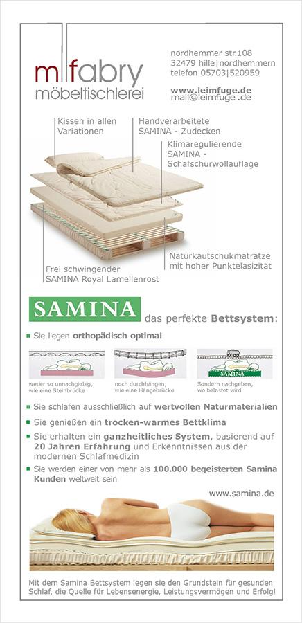 Samina Flyer